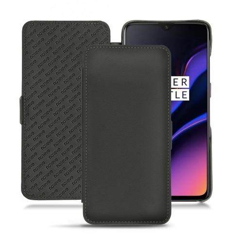 OnePlus 6T leather case - Noir PU