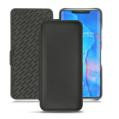 HuaweiMate 20 Pro leather case - Noir PU