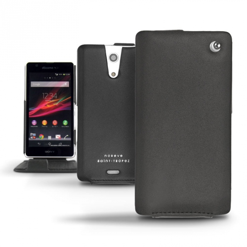 Sony Xperia ZR  leather case