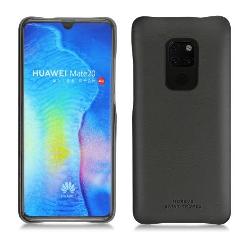Coque cuir Huawei Mate 20 - Noir PU