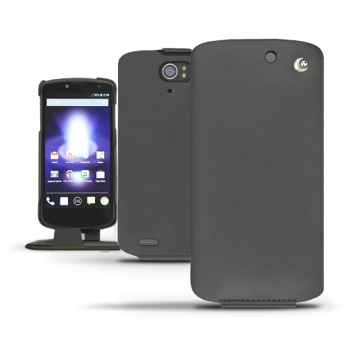 Archos 50 Oxygen  leather case - Noir ( Nappa - Black )
