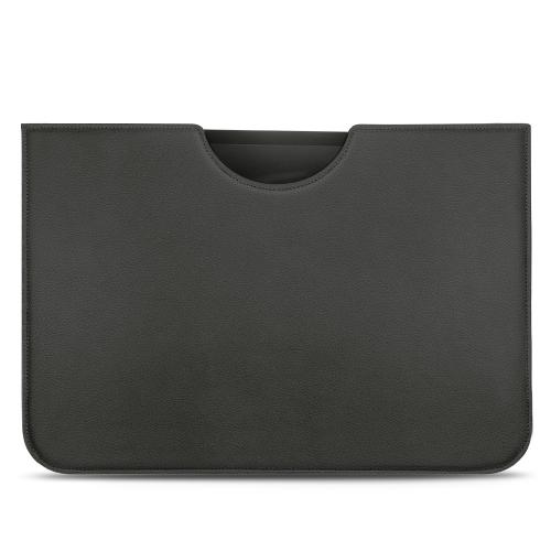 "Apple iPad Pro 12.9"" (2018) leather pouch - Noir PU"