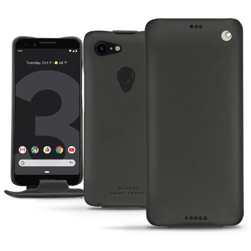 Google Pixel 3 XL leather case - Noir PU