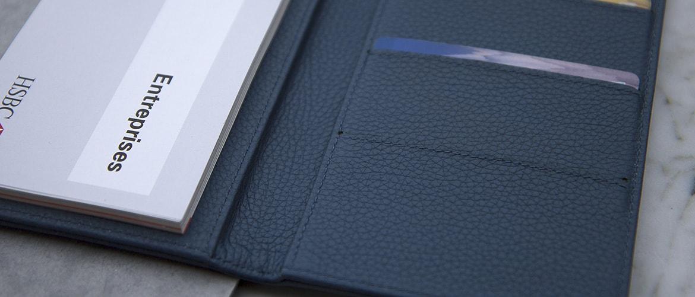 Chequebook wallet